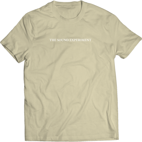 The Sound Experiment T-Shirt (Sand)