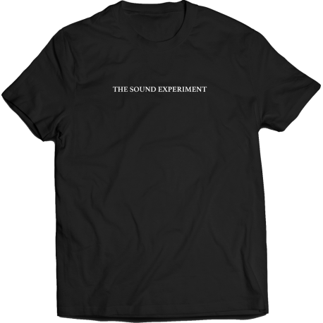 The Sound Experiment T-Shirt (Black)