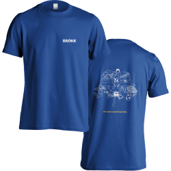 Broke T-Shirt (Blue)